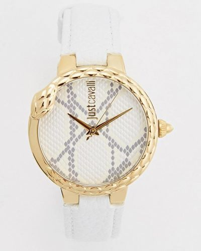 Белые кварцевые часы Just Cavalli