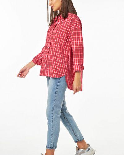 Рубашка с карманами с поясом Fly