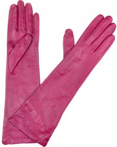 Кожаные перчатки розовый Mor`a
