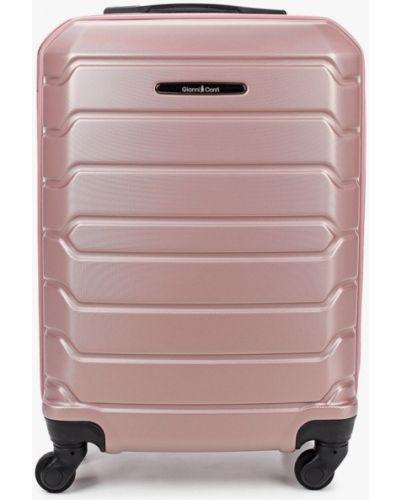 Розовый чемодан Gianni Conti