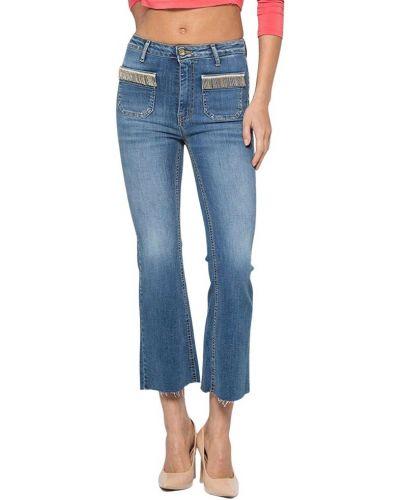 Niebieskie mom jeans Kocca