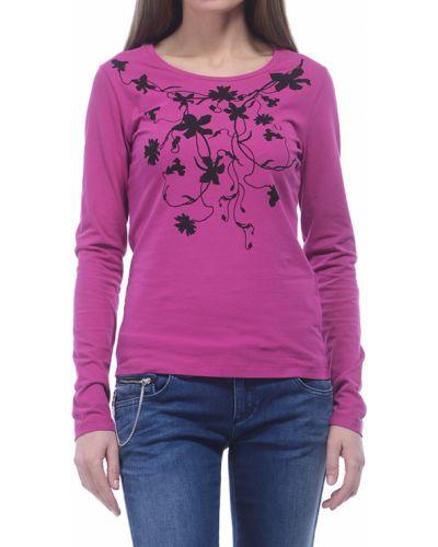 Фиолетовый джемпер хлопковый Armani Jeans