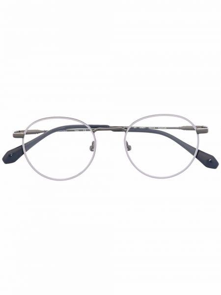 Czarne okulary srebrne Gigi Studios