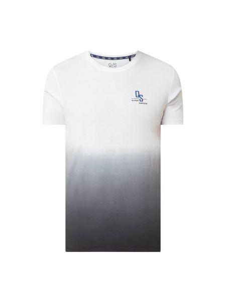 T-shirt z printem - biała Q/s Designed By