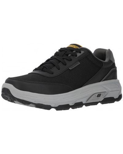 Кроссовки с перфорацией - черные Skechers