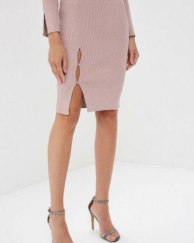 Розовая юбка облегающая Love Republic