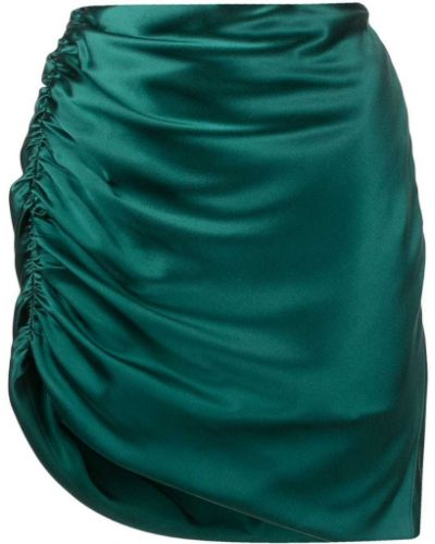 Юбка с завышенной талией - синяя Michelle Mason