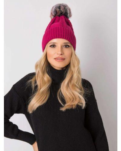 Różowy kapelusz materiałowy Fashionhunters