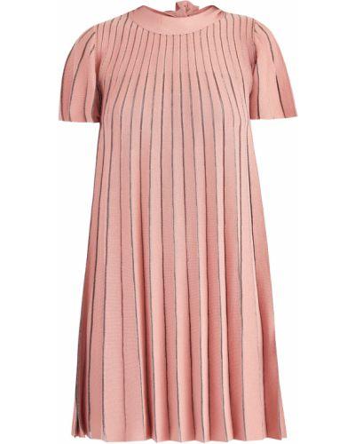 Платье макси платье-комбинация в полоску Redvalentino