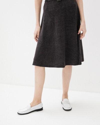 Серая юбка свободного кроя Zabaione
