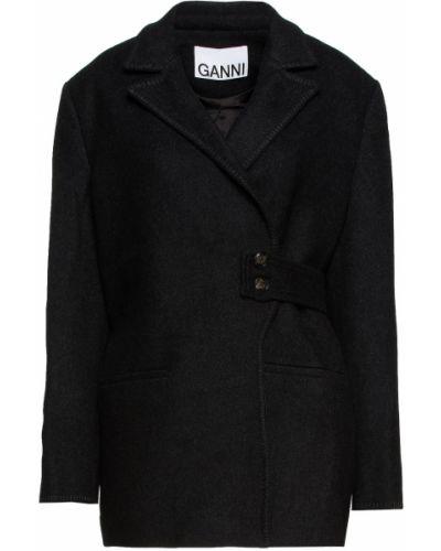 Пальто на пуговицах Ganni