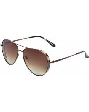 Солнцезащитные очки металлические - коричневые Kappa