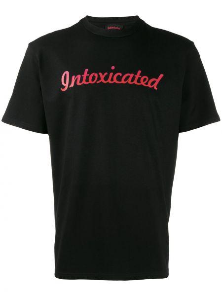 Черная футболка Intoxicated