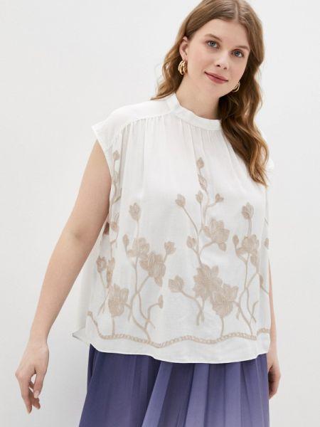 Блузка без рукавов белая весенний Gabriela