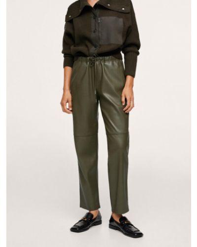 Zielone spodnie Mango