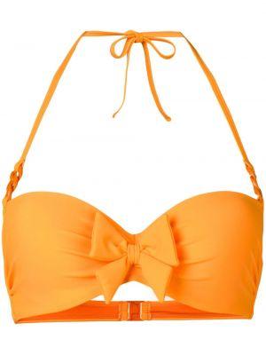 Оранжевые нейлоновые бикини Marlies Dekkers