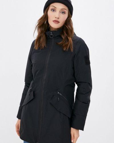 Теплая черная куртка Reebok