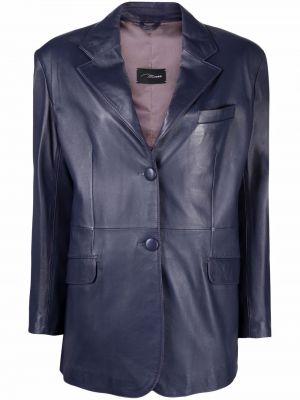 Фиолетовый пиджак из полиэстера Manokhi