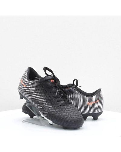 Черные кожаные кроссовки среднего размера Caroc
