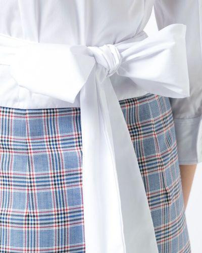 Блузка с длинным рукавом с V-образным вырезом с запахом Milly