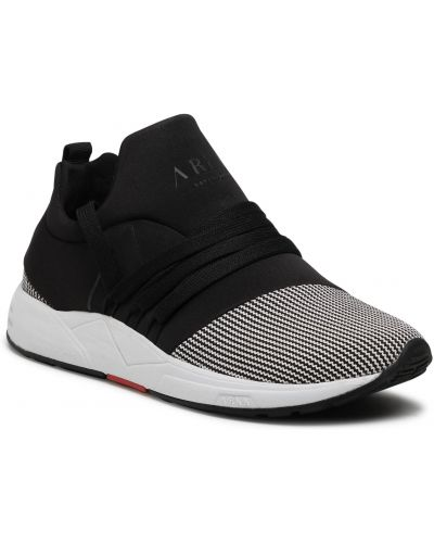 Czarne sneakersy z siateczką Arkk Copenhagen