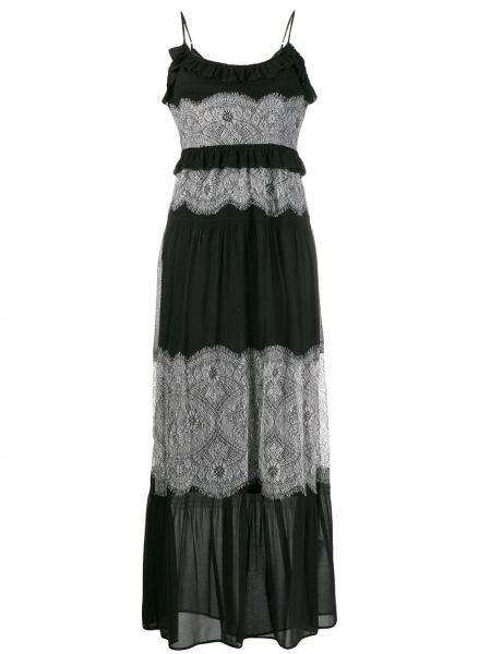 Sukienka chudy czarny Twin Set