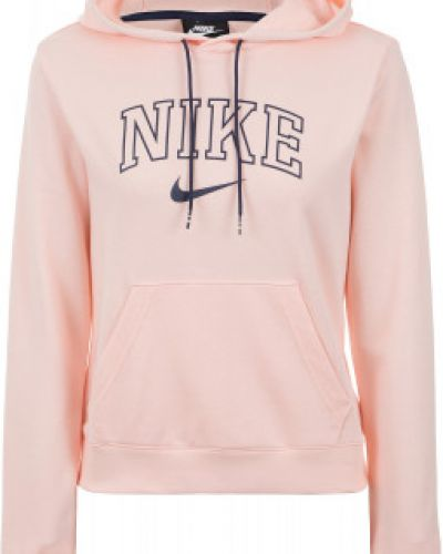 Джемпер с капюшоном розовый Nike