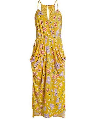 Платье миди на бретелях с оборками с карманами Bcbgeneration