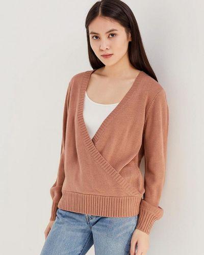 Коричневый пуловер Jacqueline De Yong