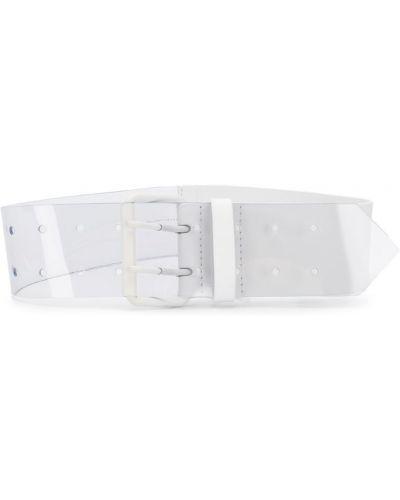 Ремень прозрачный белый Mm6 Maison Margiela