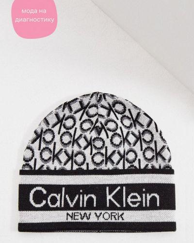 Разноцветная шапка Calvin Klein