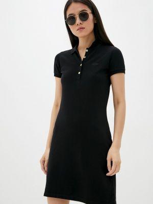 Черное платье Galvanni