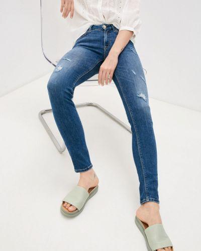 Синие джинсы-скинни узкого кроя Replay