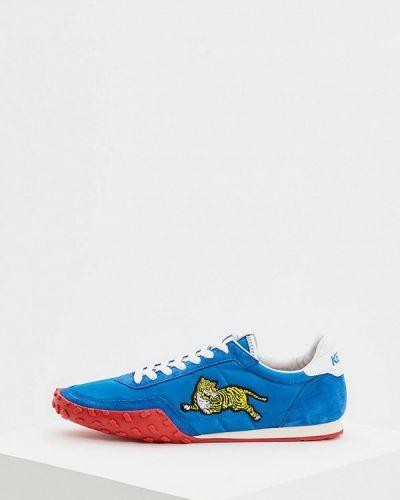 Синие кроссовки низкие Kenzo