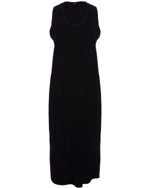Платье миди черное с рукавами Diesel