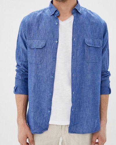Рубашка с длинным рукавом синий Gt Gualtiero