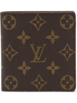 Portfel skórzany - brązowy Louis Vuitton