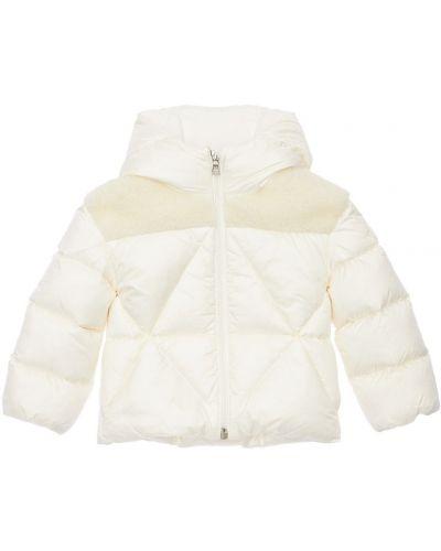 Куртка с капюшоном - белая Moncler