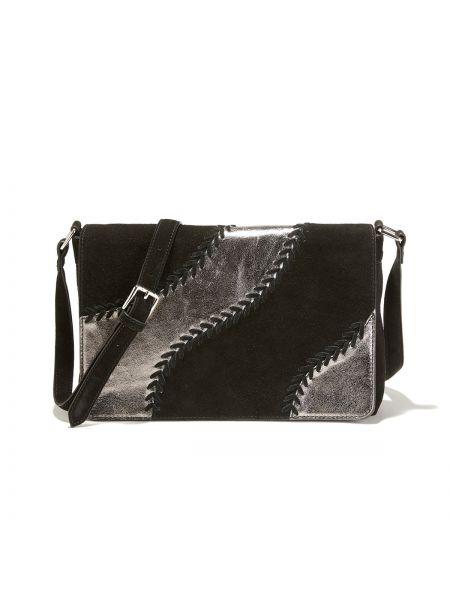 Сумка через плечо кожаный сумка-мешок La Redoute Collections
