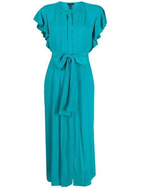 Платье мини миди плиссированное Escada