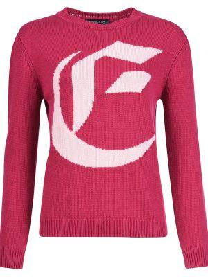 Кашемировый свитер - розовый Mangano