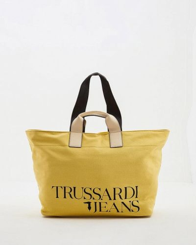 Желтые джинсы Trussardi Jeans