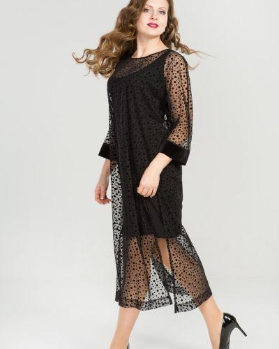 Платье футляр сетчатое прима линия