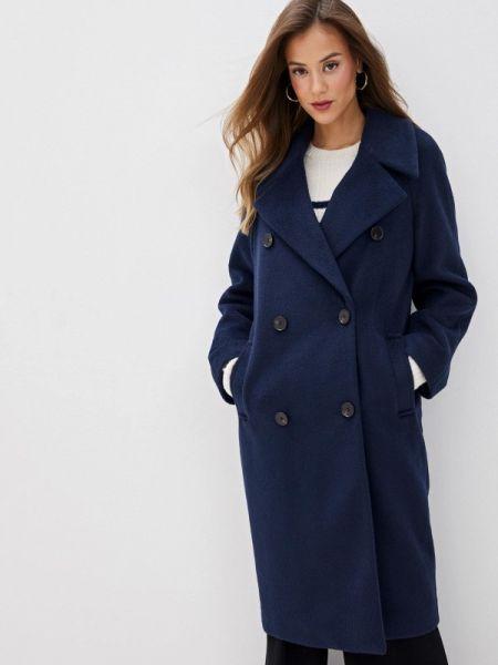 Синее пальто с капюшоном Marks & Spencer