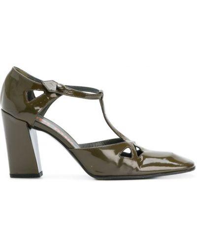Туфли на каблуке на высоком каблуке кожаные Miu Miu Pre-owned