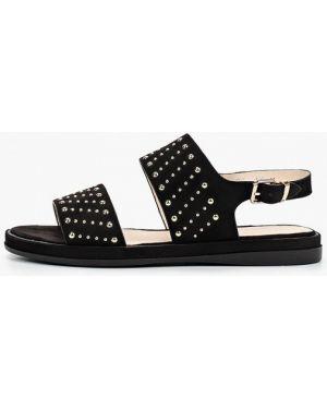 Текстильные черные сандалии Lolli L Polli