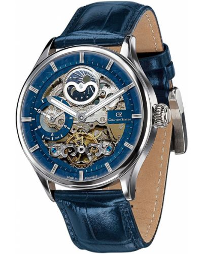 Часы механические водонепроницаемые с подсветкой Carl Von Zeyten