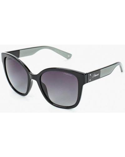 Солнцезащитные очки черные Polaroid
