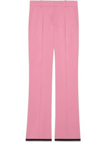 Różowe majtki z paskiem z wiskozy Gucci