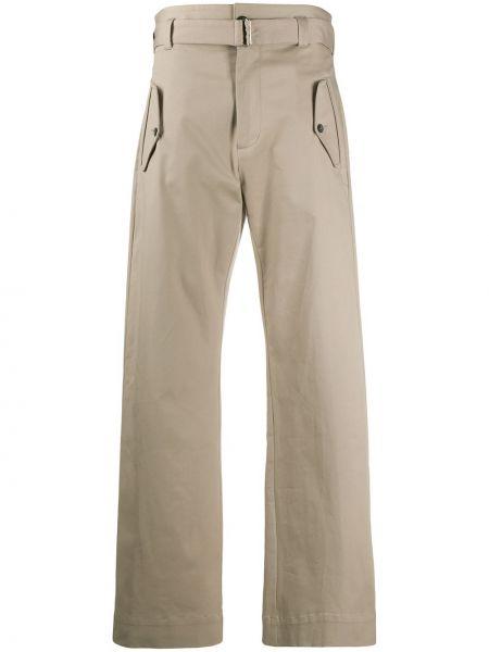 Бежевые брюки с карманами свободного кроя Paul & Shark